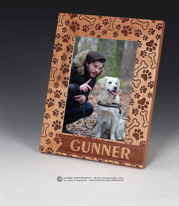 SLD Awards CUSTOM LASER ENGRAVED DOG FRAME