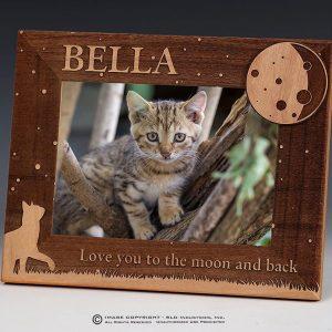 SLD Awards Custom Laser Engraved Cat Frame