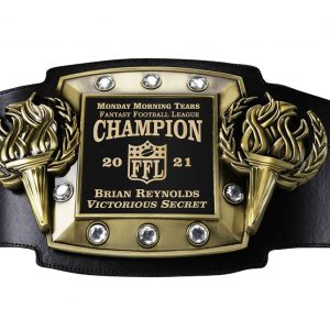 SLD Awards Fully Customizable Victory Torch Championship Belts