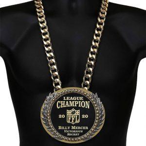 SLD Awards Fully Customizable Championship Blink Thing Neck Belt