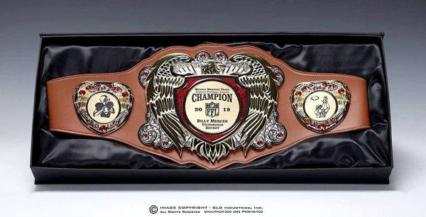 SLD Awards Eagle Series Championship Belt with Presentation Box