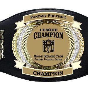 SLD Awards Fully Customizable Championship Perpetual Belt