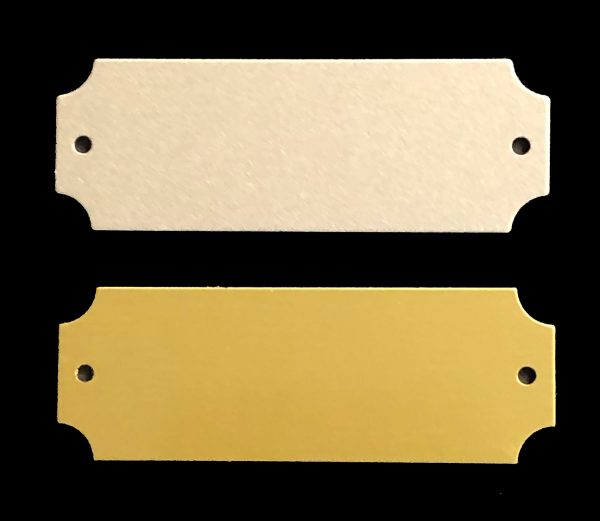SLD Awards Screw-on Perpetual Replacement Customizable Engraving Plates